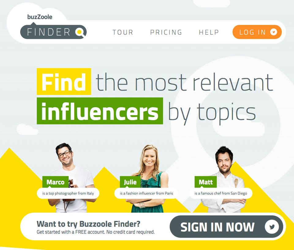 Buzzoole launches Finder; the new Influencer Search Engine