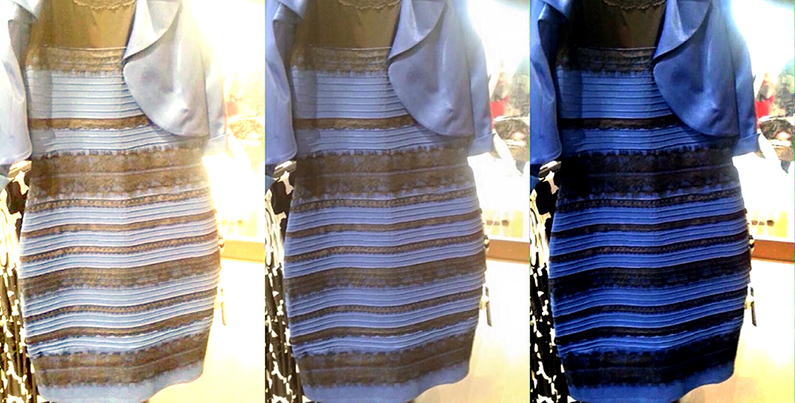 What colors are #TheDress?