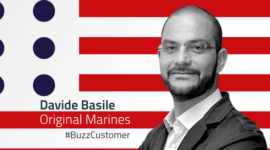 #BuzzCustomer: Interview with Davide Basile from Original Marines