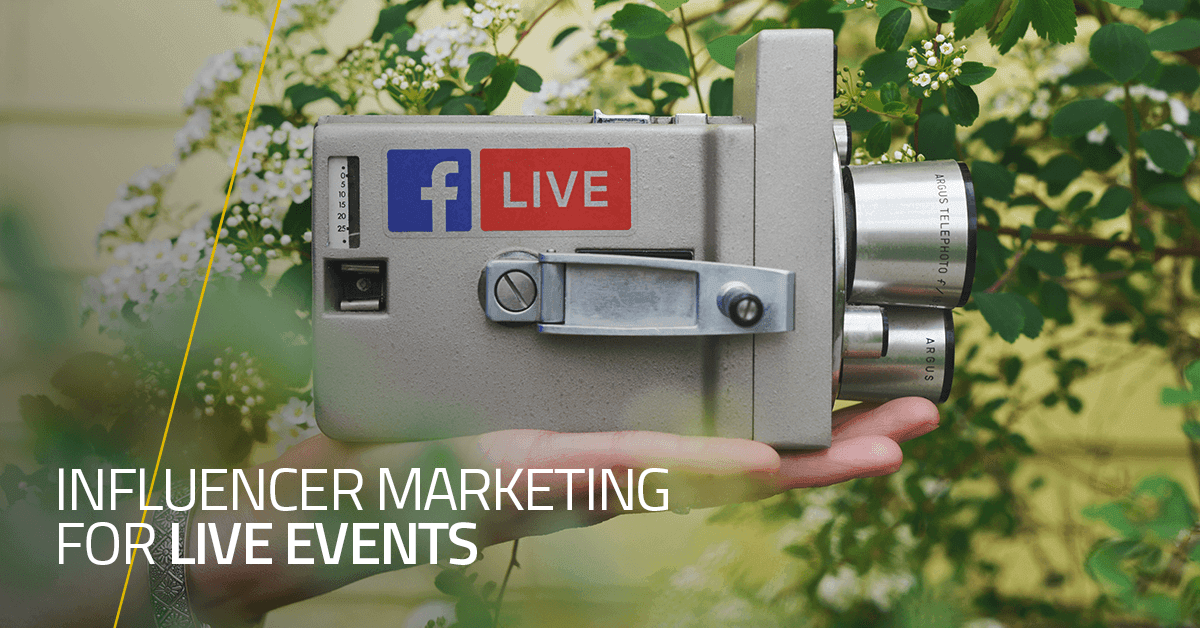 Influencer Marketing for Live Events
