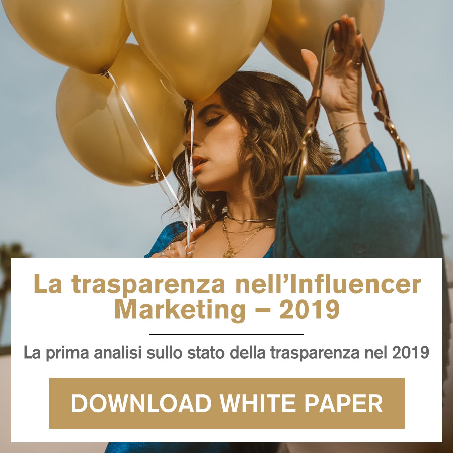 la trasparenza nell'Influencer Marketing