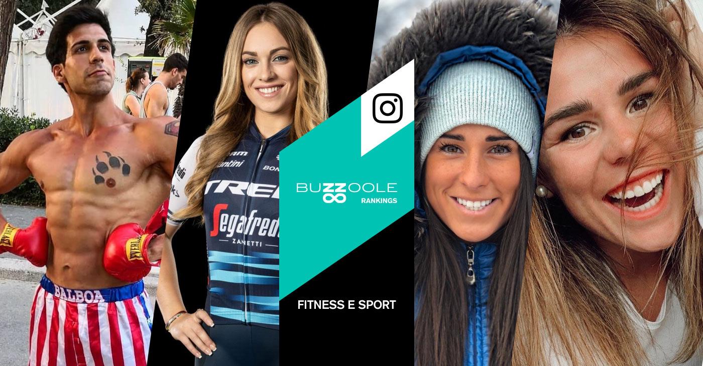 classifica dei migliori sport e fitness influencer su instagram