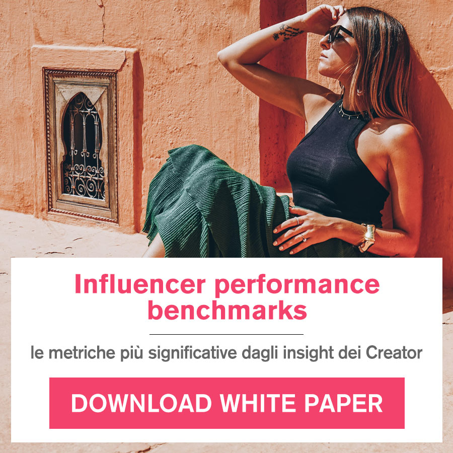 Influencer performance benchmarks